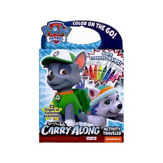 Bendon Carry Along Traveler w/Crayons Paw Patrol