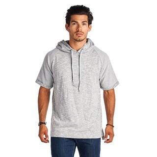 Men's Short Sleeve Grey Hoodie