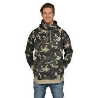 ARSNL Mens Fashion Camoflauge Hoodies Ninja Style