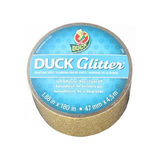 "Duck Glitter Craft Tape 1.88""x5yd Gold"