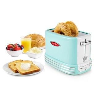 Nostalgia RTOS200AQ Retro Series 2-Slice Bagel Toaster