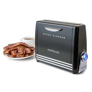 Nostalgia BCN6BK Bacon Express Crispy Bacon Grill