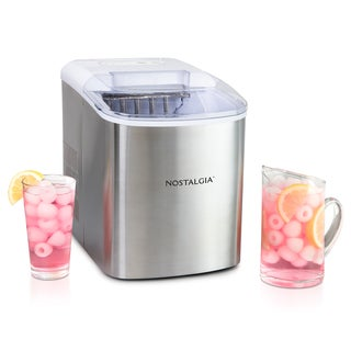 Nostalgia ICMSS Stainless Steel Ice Cube Maker