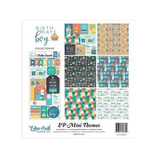 Echo Park Birthday Boy Collection Kit 12x12