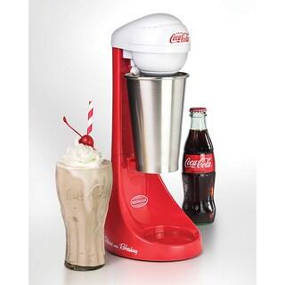 Nostalgia MLKS100COKE Coca-Cola Limited Edition Two-Speed Milkshake Maker