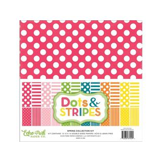 Echo Park Dots&Stripes Spring Collection Kit 12x12