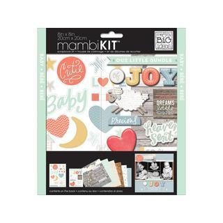 Me & My Big Ideas Scrapbook Kit 8x8 Brand New
