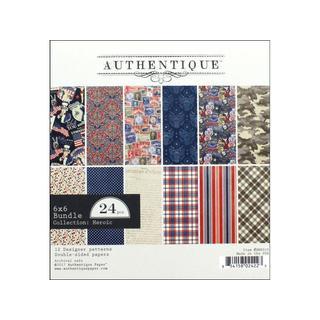 Authentique Heroic Bundle Pad 6x6