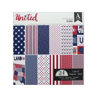 Authentique United Paper Pad 12x12