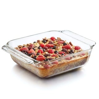 Link to Libbey Baker's Premium Square Glass Casserole Bake Dish, 8-inch by 8-inch Similar Items in Bakeware