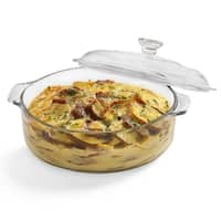 Libbey Baker's Basics 2-quart Glass Casserole with Cover
