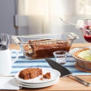 Libbey Baker's Premium 9-inch by 5-inch Glass Loaf Dish