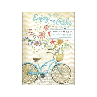 Molly & Rex Sticky Pad Portfolio BikeRideBouquet