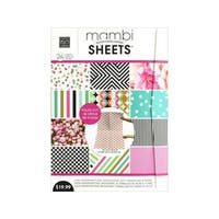 Me & My Big Ideas Sheets Paper Pad 18.3x25.8 Vertical Peony