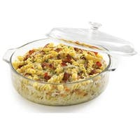 Libbey Baker's Basics 3-quart Glass Casserole with Cover