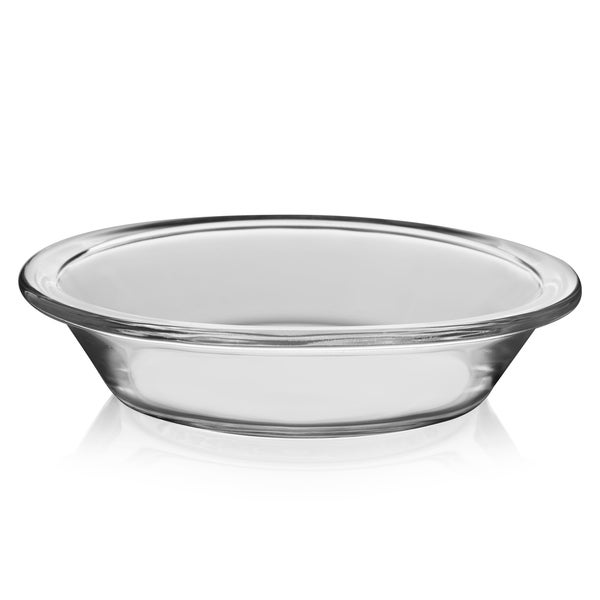 Cuisinart 4 Piece Oval Pie Dish Set Mini Steel Gray