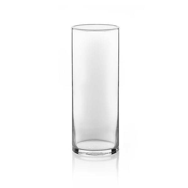 Shop Libbey Cylinder 2 Piece 9 Inch Vase Set Free Shipping On