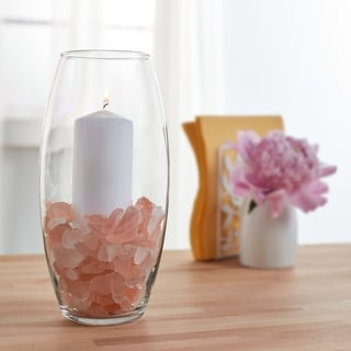 Libbey Bala Glass Vase, 10-inch