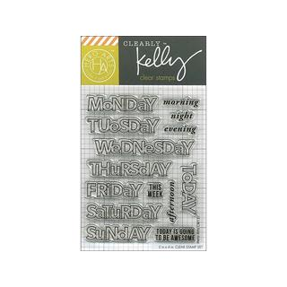 Hero Arts Clear Stamp Kelly Days Of The Week