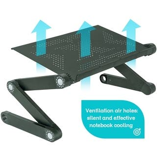 Portable Foldable Laptop Table with Mouse Pad and Cooling Fan|https://ak1.ostkcdn.com/images/products/18518618/P24628435.jpg?impolicy=medium