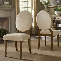 Gilderoy Oval Back Dining Side Chairs (Set of 2) by iNSPIRE Q Artisan