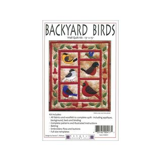 Rachel's of Greenfield Kit Quilt Backyard Birds