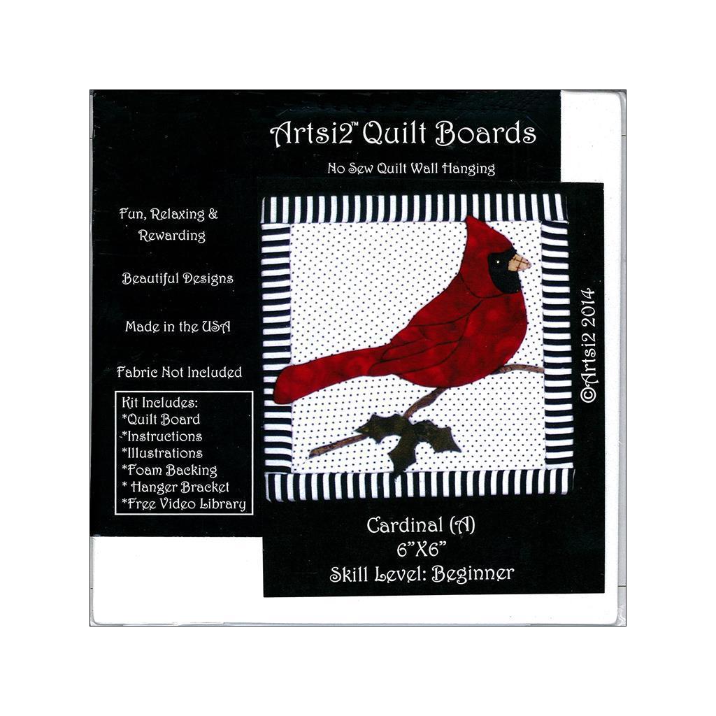 Artsi2 Quilt Board 6x6 Cardinal (Red) (Quilt Board 6x6 Ca...