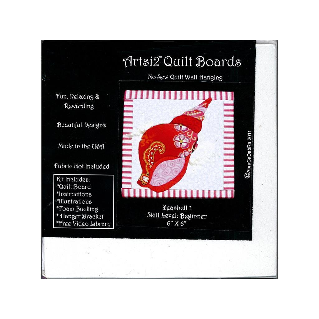 Artsi2 Quilt Board 6x6 Seashell #1 (Quilt Board 6x6 Seash...
