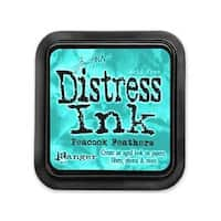 Ranger THoltz Distress Ink Pad Peacock Feathers