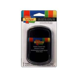 Scribbles Fabric Stamp Pad Black|https://ak1.ostkcdn.com/images/products/18518839/P24628501.jpg?impolicy=medium