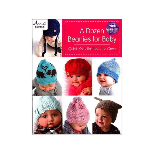 Shop Annie S A Dozen Beanies For Baby Book Free Shipping