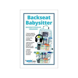 By Annie Backseat Babysitter Pattern