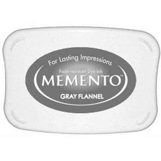 Tsukineko Memento Ink Pad Gray Flannel