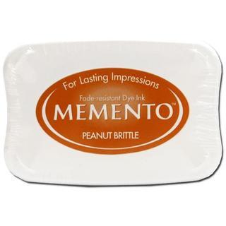 Tsukineko Memento Ink Pad Peanut Brittle