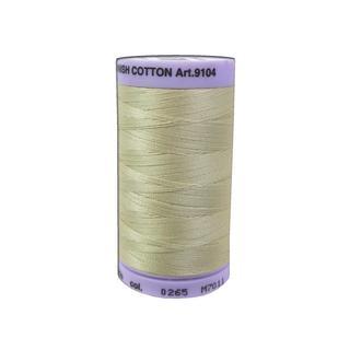 Mettler Silk Finish Cotton #50 547yd Ivory