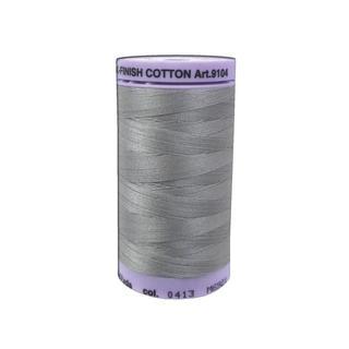 Mettler Silk Finish Cotton #50 547yd Titan Gray