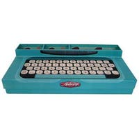 Molly & Rex Yesteryear Desk Organizer Typewriter