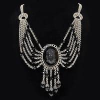 Elvira's Transylvania Cameo Necklace
