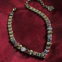 Elvira's Gothic Jewel Collar Necklace