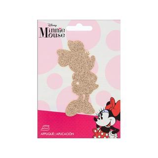 Simplicity Applique Disney Iron On Sm Minnie Gold