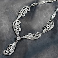 Elvira's Spellbound Crystal Necklace