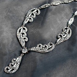 Elvira's Spellbound Crystal Necklace