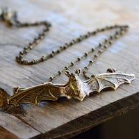 Elvira's Vampire Bat Necklace