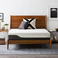 LUCID Comfort Collection 10-inch King-size Premium Support Memory Foam Hybrid Mattress