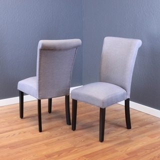 Monsoon Volten Linen-upholstered Wood Dining Chairs (Set of 2)