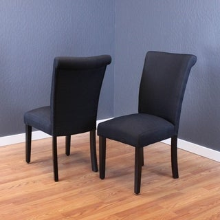 Volten Dining Chairs (Set of 2) (Black)