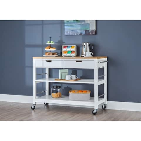Carson Carrington Skovby 48-inch Kitchen Island with Drawers