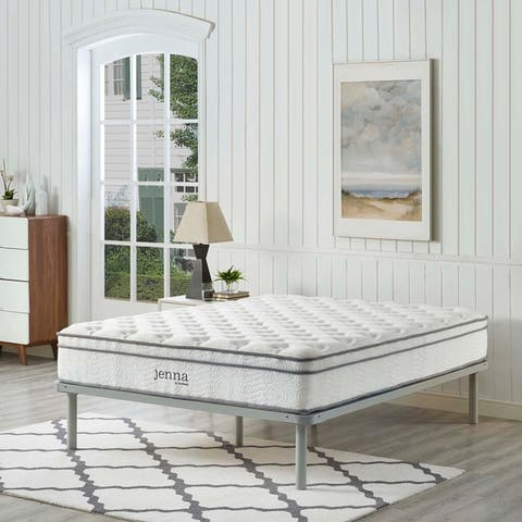 Jenna 10-inch Euro Top Pocket Spring Mattress