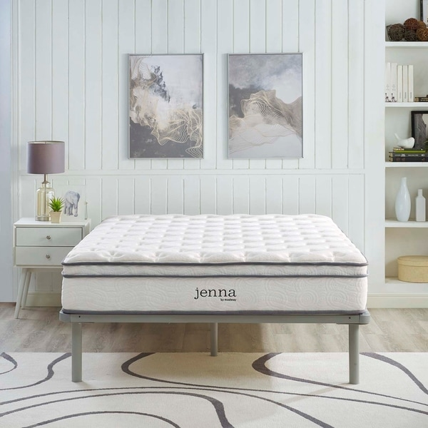 Shop Jenna 10-inch Queen-size Innerspring Mattress - On ...