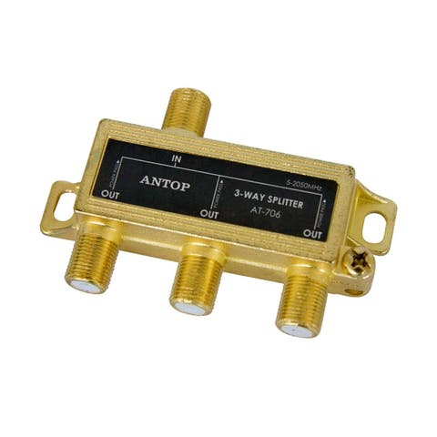 Antop AT-707 4-Way Splitter